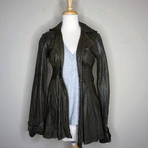 Mike & Chris Jude Leather Jacket